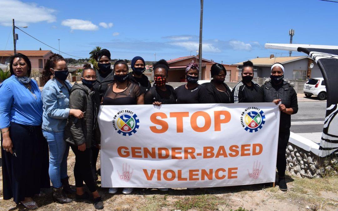 SALDANHA BAY MUNICIPALITY GENDER BASED VIOLENCE AWARENESS LAUNCH AND SIXTEEN DAYS OF ACTIVISM PROGRAMME