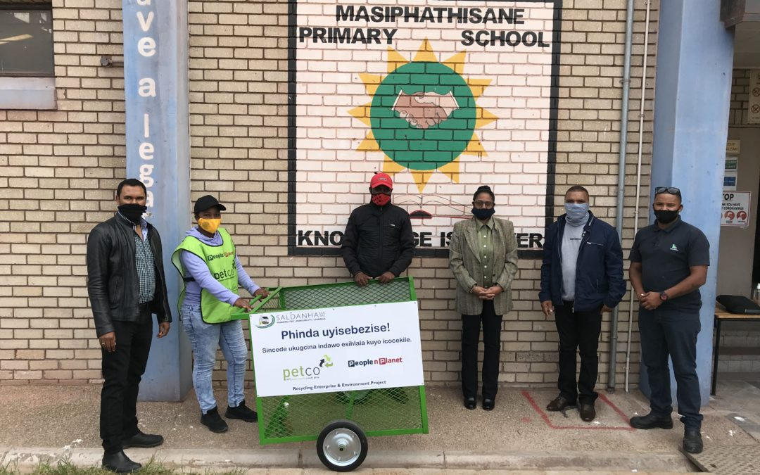 Saldanha Bay Municipality launches Recycling Enterprise and Education Project (REEP)