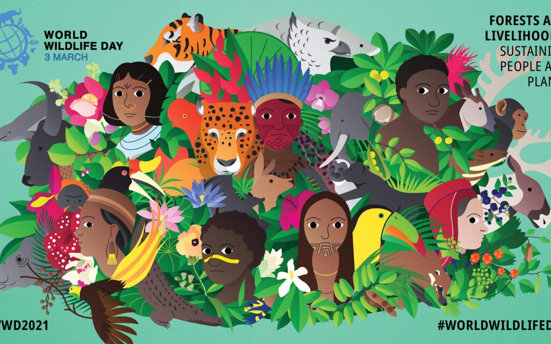 3 March 2021 is World Wildlife Day